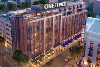 original plan for One 11 West