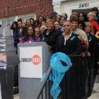 Kim Trent held a fund-raising campaign